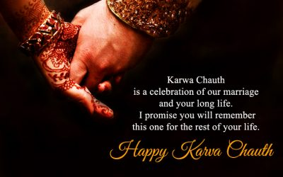 Happy Karwa Chauth Message for Wife