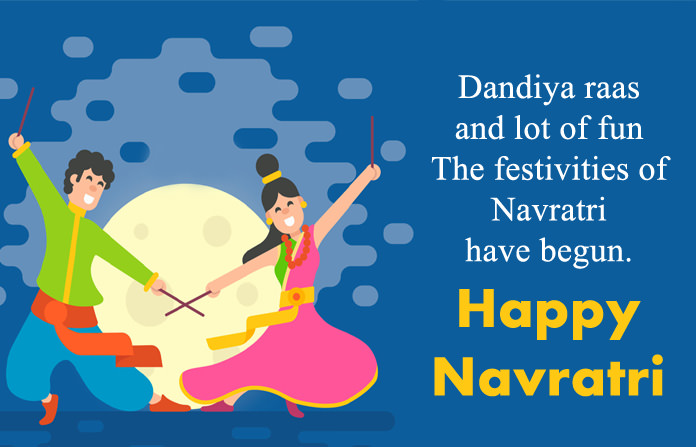 Happy Navratri Wishes Image