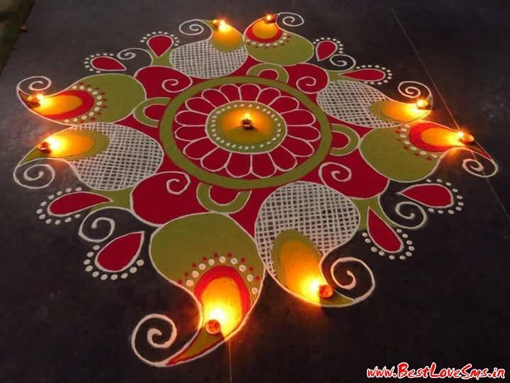 Diwali Rangoli for Home