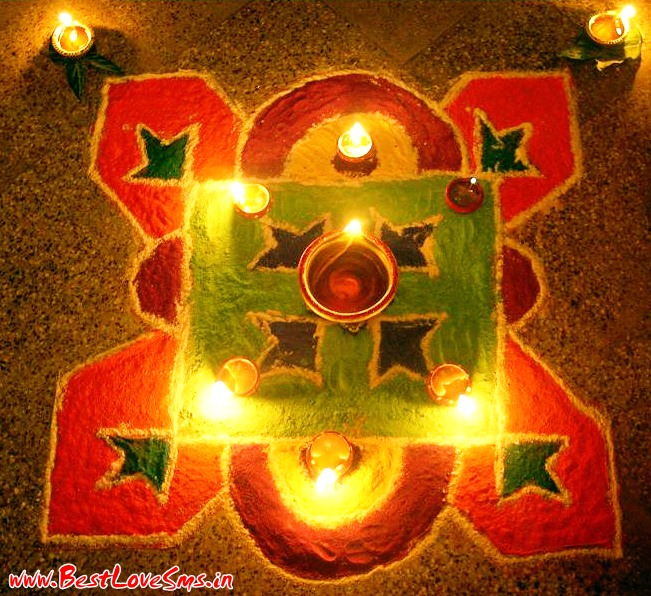 Traditional Diwali Rangoli Designs