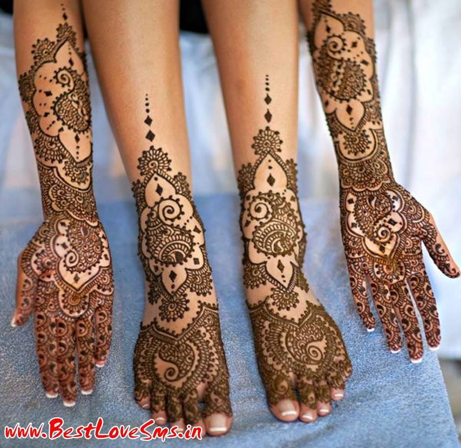 Bridal Mehndi Feet Wallpapers : Beautiful bridal mehndi designs for legs stylish dulhan