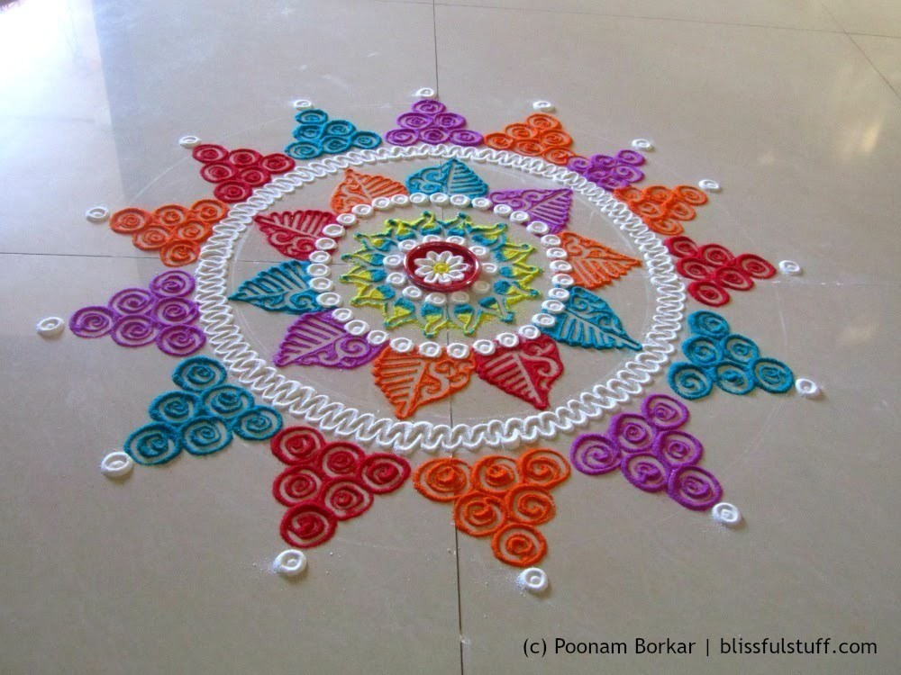 Ultimate Rangoli Designs For Diwali Festival 2018 With