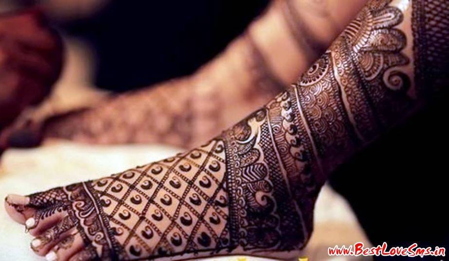 Designer Bridal Mehndi Patterns