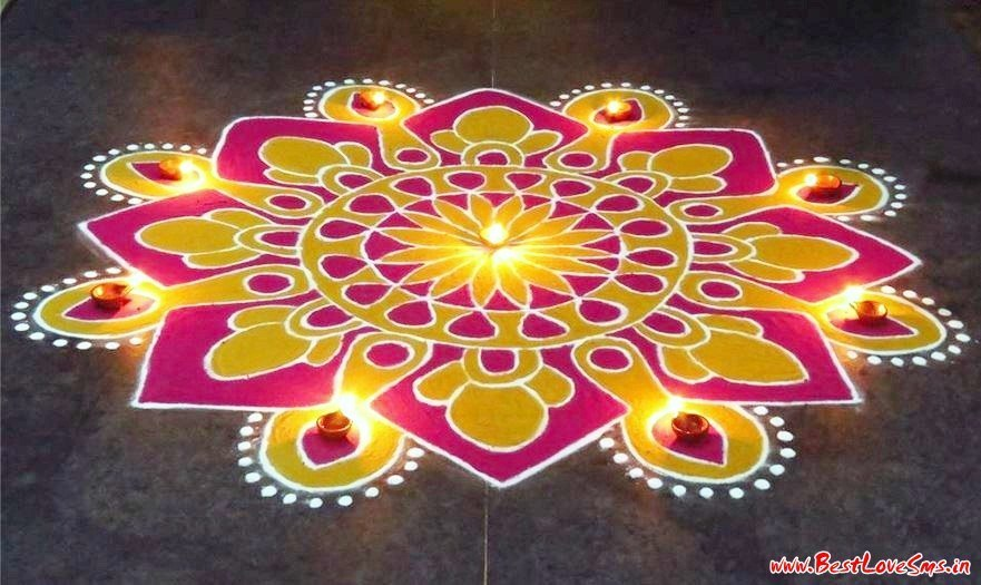 Best Rangoli for Diwali