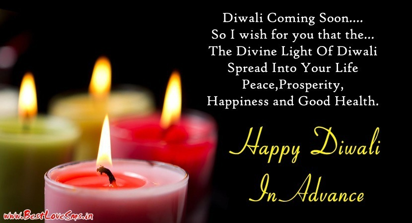Advance Deepavali Greetings