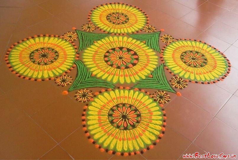 Special Rangoli For Competition Designs