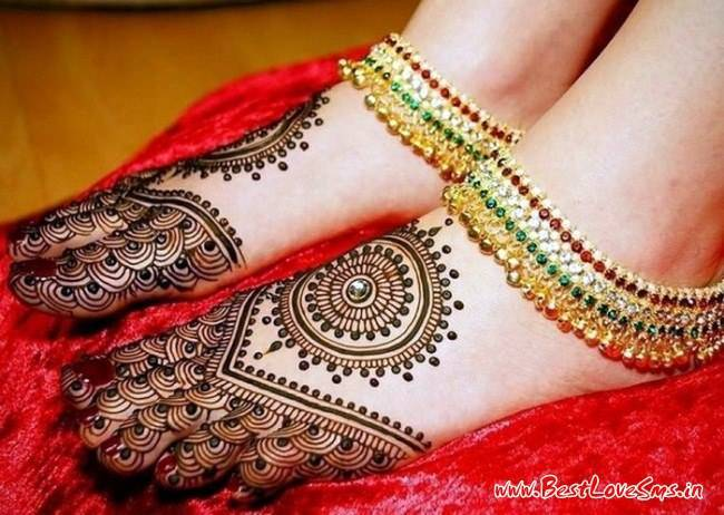Mehndi Design Leg And Hand : Beautiful bridal mehndi designs for legs stylish dulhan