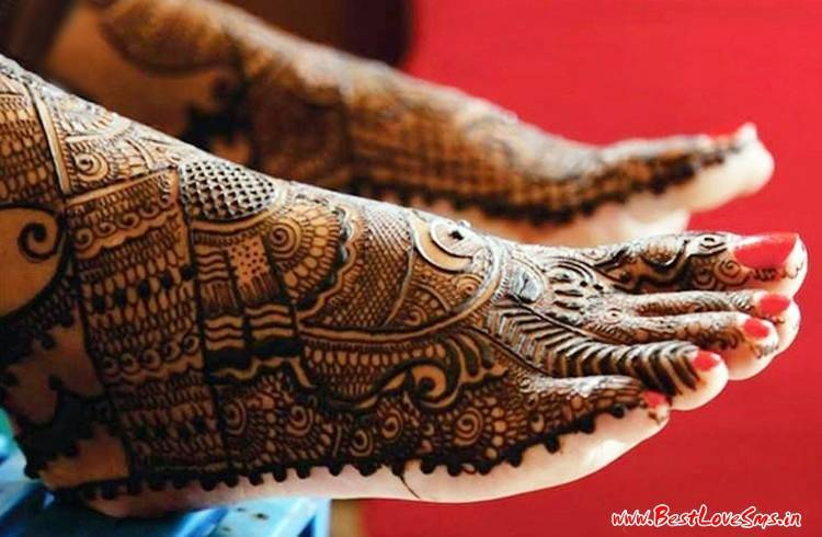Bridal Mehndi On Foot : Beautiful bridal mehndi designs for legs stylish dulhan mehandi