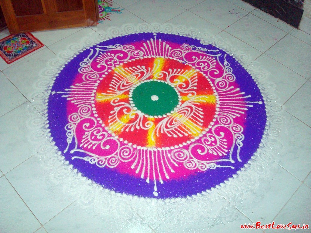 Free Hand Rangoli Designs Latest