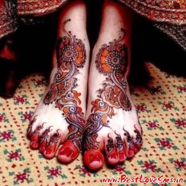 Mehndi For Hands And Legs : Beautiful bridal mehndi designs for legs stylish dulhan