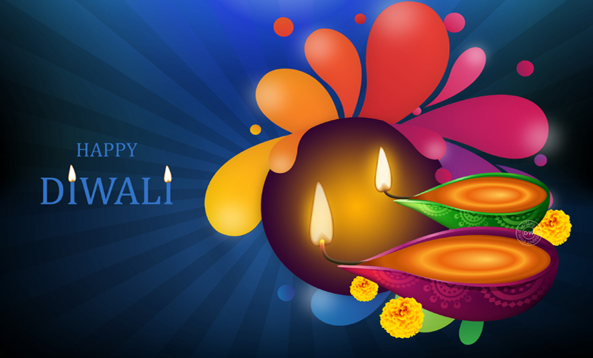 Happy Diwali Colorful Images