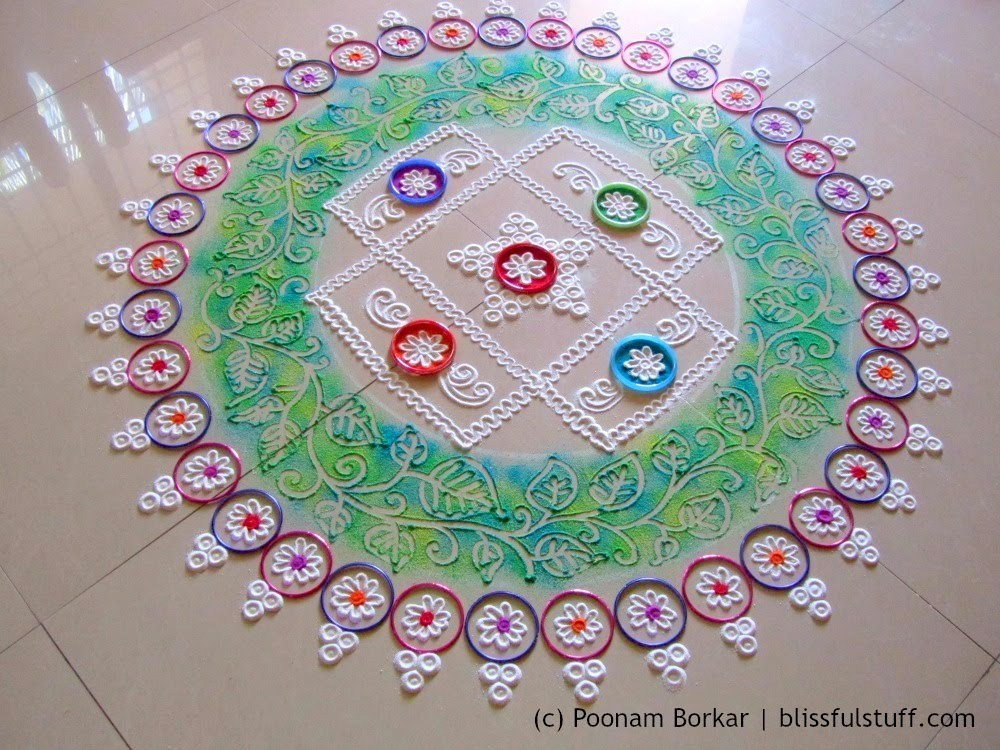 Small Rangoli Designs For Competition