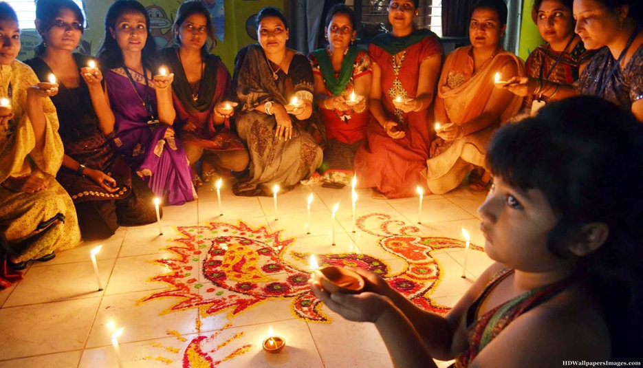 Hostel Girls on Diwali