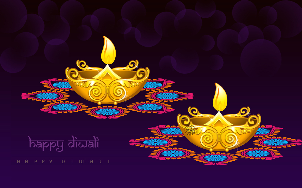 Traditional Diwali Diya Photo