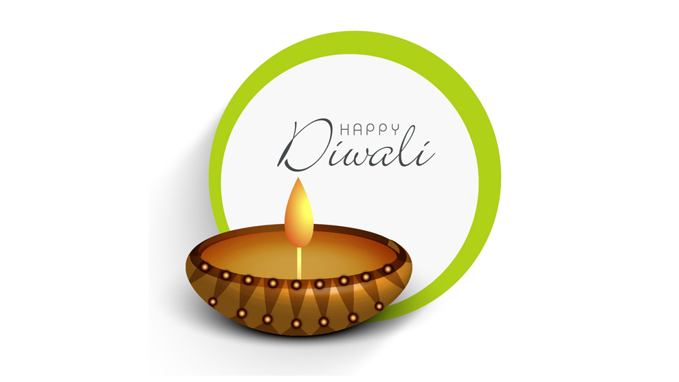 Plain Happy Diwali Picture for Mobile Profile Picture