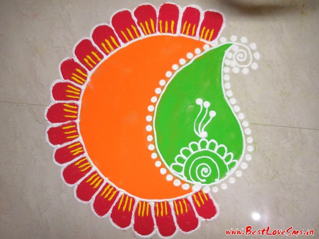 Small Rangoli Designs Image for Home