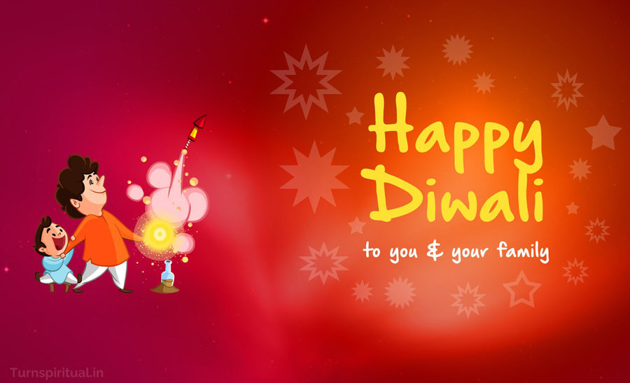 Most Loving and Funny Happy Diwali Wallpaper