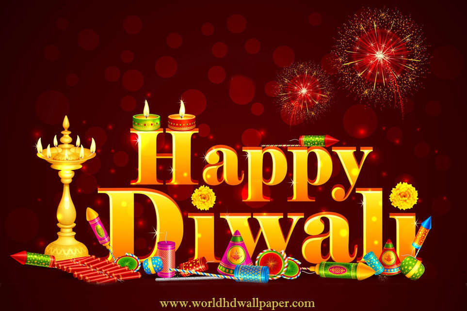 Just Happy Diwali Text Image