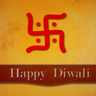 Happy Diwali DP of Swastic