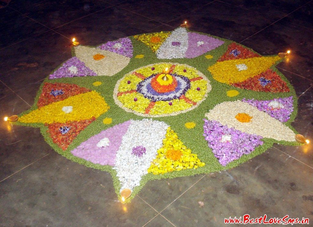 Diwali Rangoli Designs For Competition