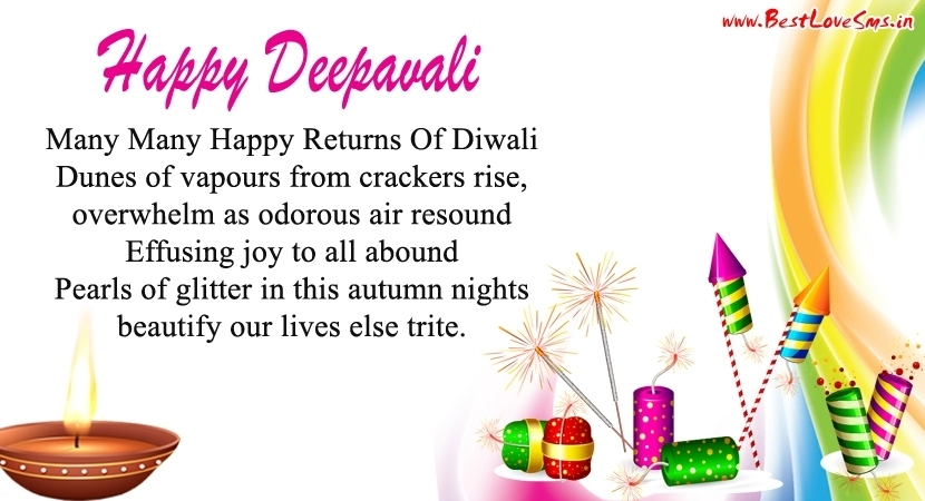 Happy Diwali Poems in English, Deepavali Poetry Images