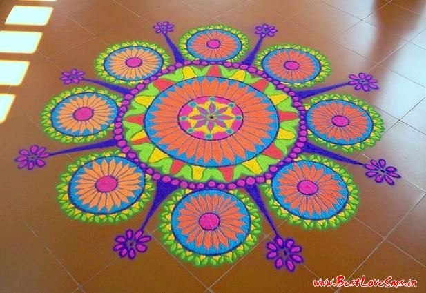 top rangoli designs for competition with themes prize