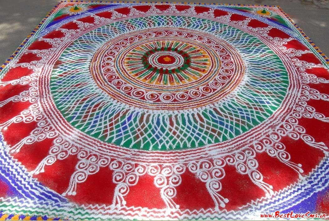 Free Hand Rangoli Designs For Competition