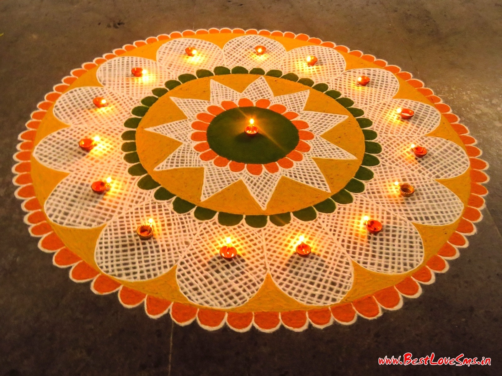Special Rangoli Design For Competition