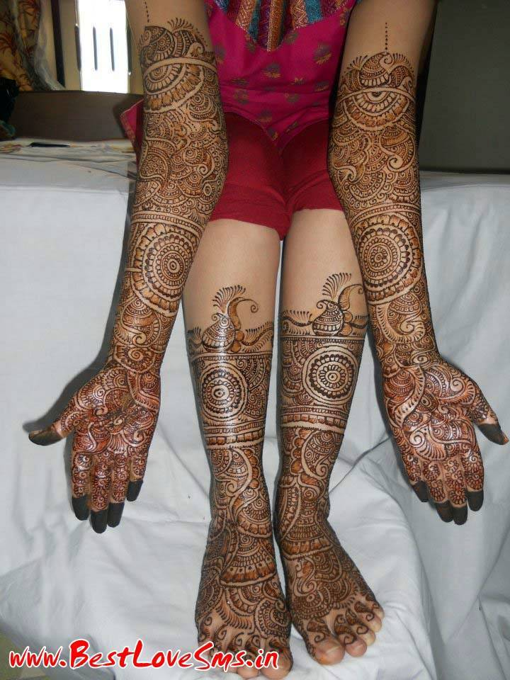 Attractive Bridal Mehndi