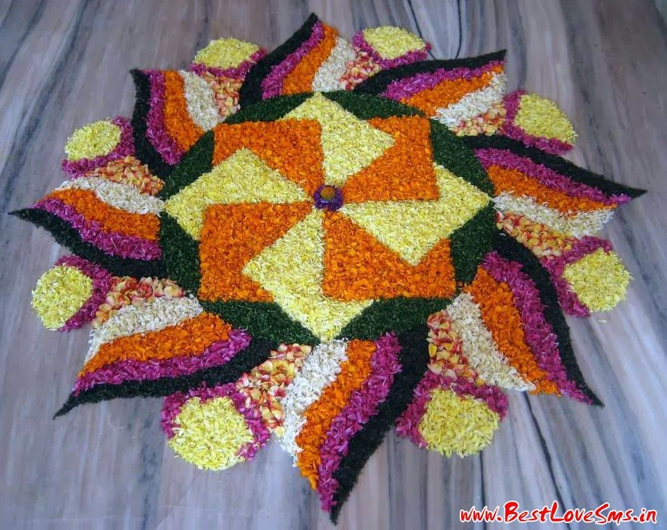 Beautiful Rangoli Designs For Competition