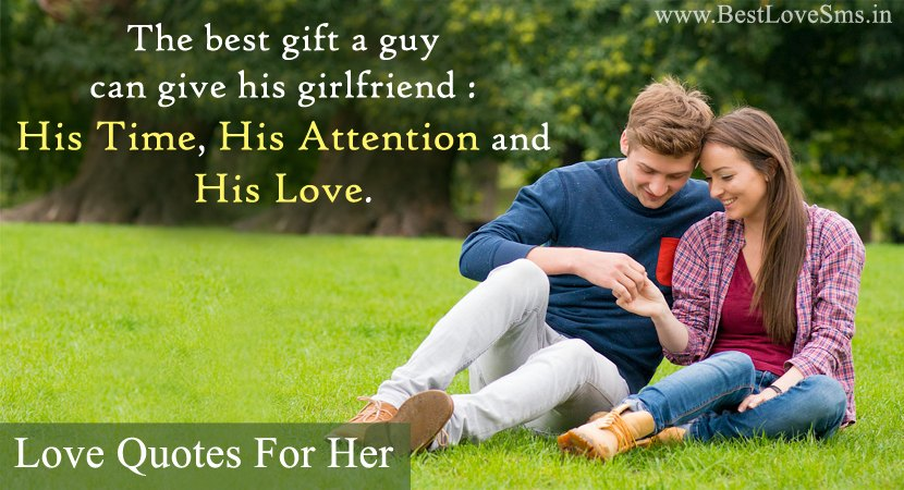 cute love quotes for him and her with beautiful romantic