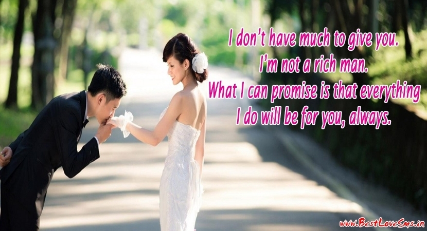 Love Quotes for GF with Image