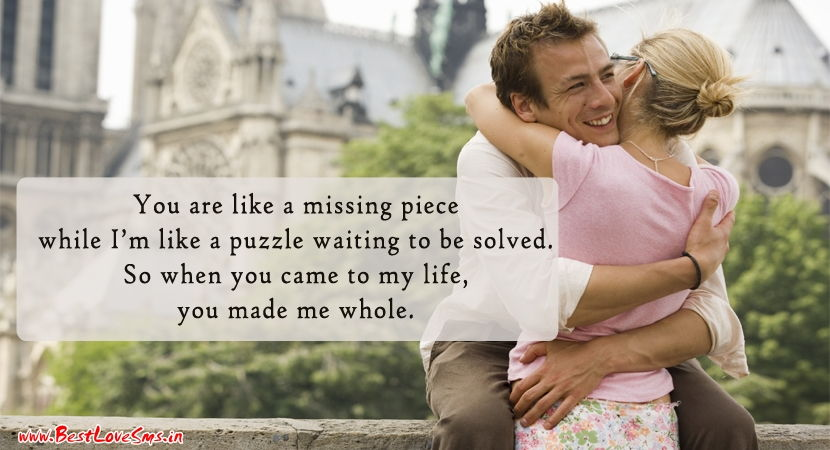 Loving Quotes For Her with Greeting Image