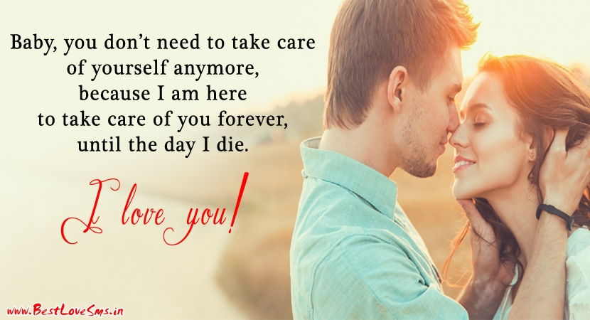 Cute Love Quotes For Him And Her With Beautiful Romantic Couple Images