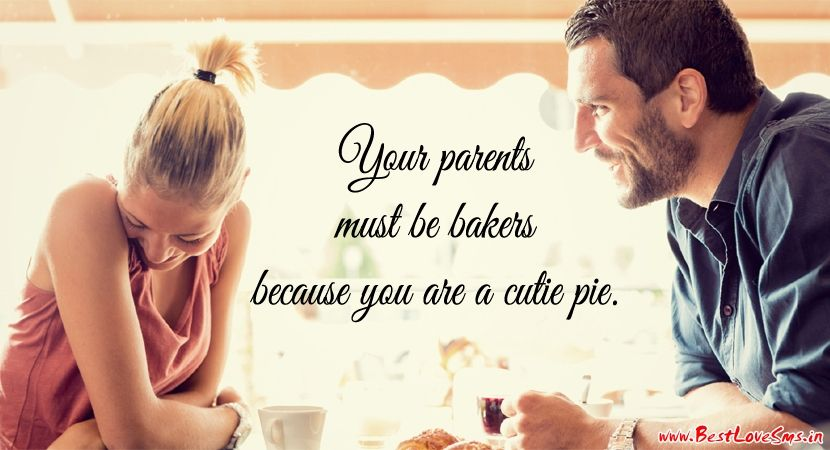 Love Quotation For Her with Smiling Couple Pic