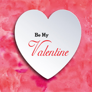 BE MY VALENTINE Whatsapp DP