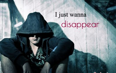 I just wanna disappear boy image