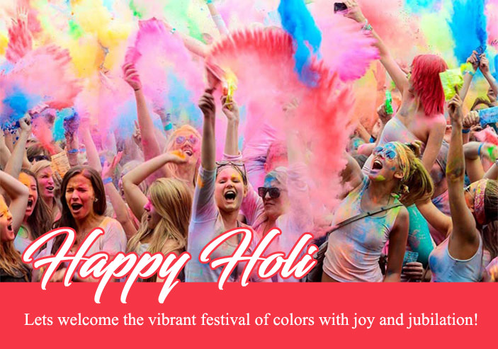 full masti dhamal on holi quote image