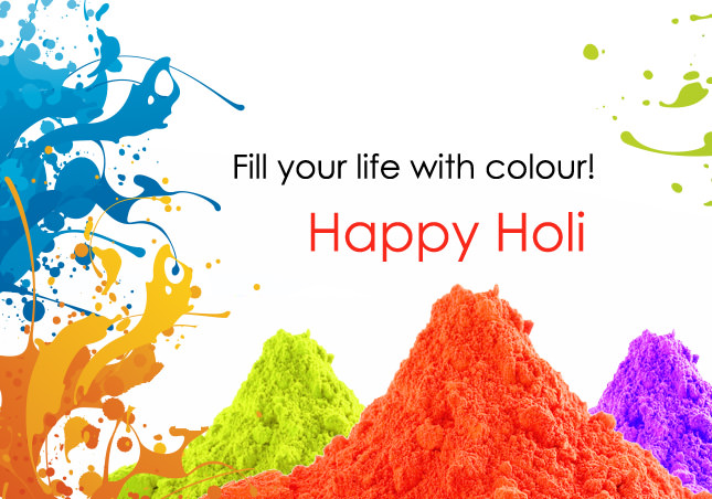 Your Life With color happy holi