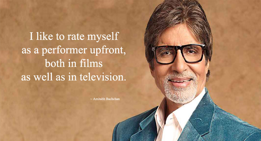 Amitabh Bachchan Quotes
