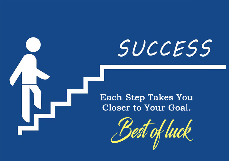 Best of Luck for Success goal of life