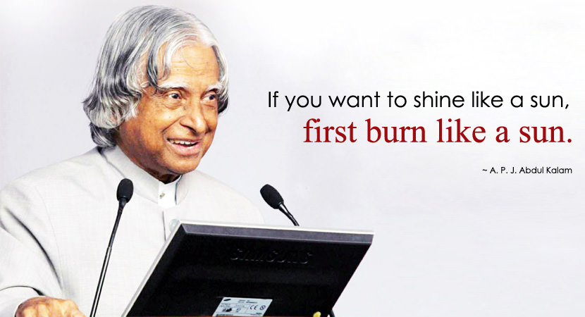 Quotes From APJ Abdul Kalam