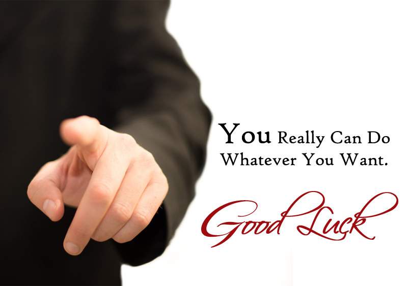 inspirational good luck quotes and sayings