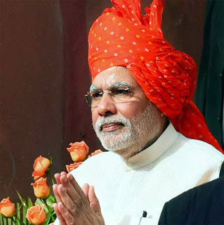 modi ji in saafe indian look dp