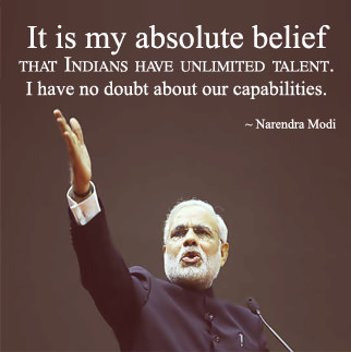 Narendra Modi Quotes in English DP
