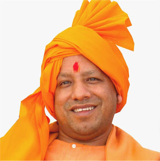 yogi adityanath dp with pagdi