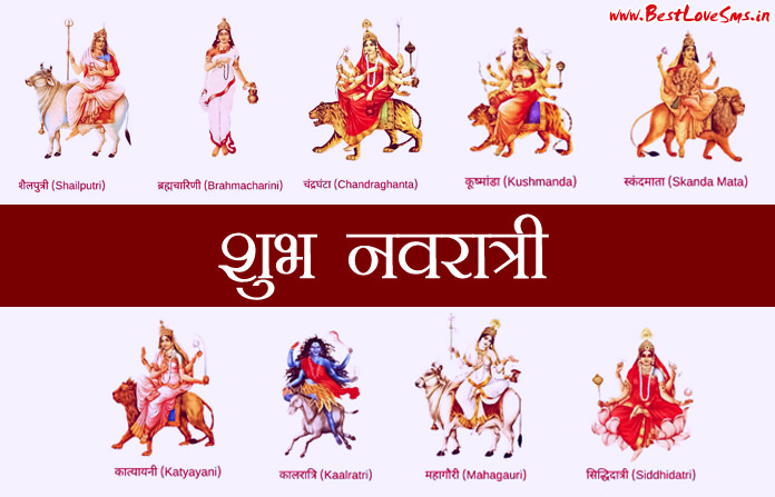 Nav Durga Images with Name