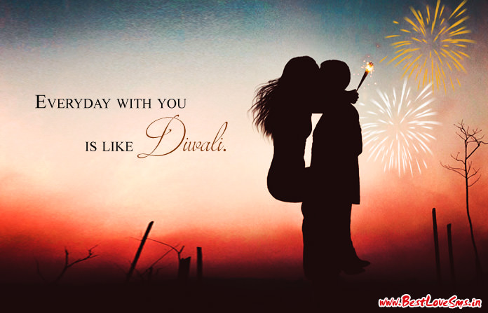 Diwali Couple Quotes Sayings
