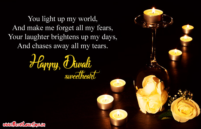 Diwali Quotes for Husband Wife