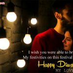 Diwali Love Images with Quotes & Shayari
